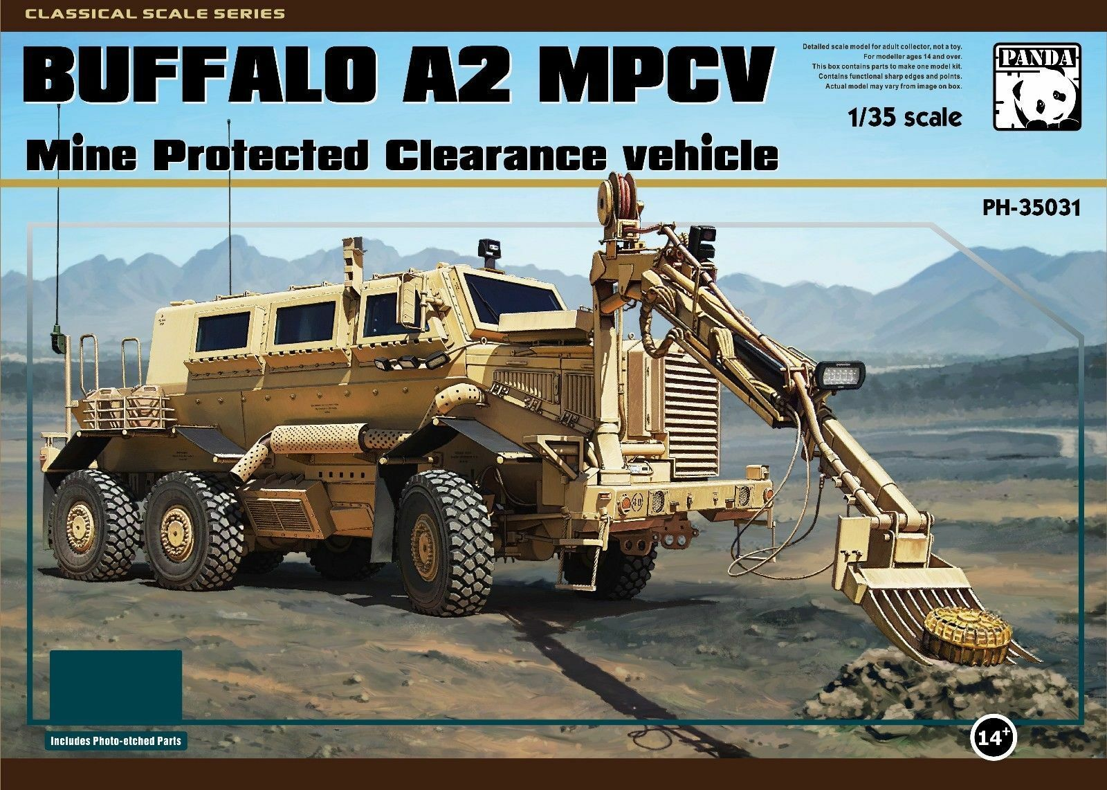 Panda 1 35 Buffalo A2 MPCV Mine Predected Clearance Vehicle