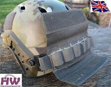 AIRSOFT OPS CORE TACTICAL HELMET RAIL COUNTER WEIGHT POUCH GREEN OD FG UK