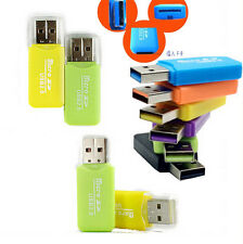 Cheap USB 2.0 TF T-Flash Micro SD Card Nice Memory Card Reader Adapter 1pcs CIT