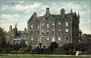 Ilkley-Yorkshire-England-1920-Craiglands-Hydropathic-Klinik-Sanatorium-Haus