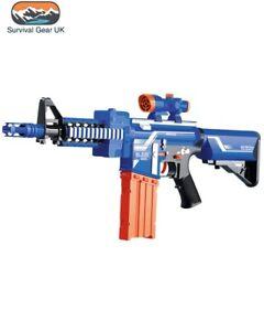 Bambini PISTOLA GIOCATTOLO DARDI Blaze STORM FUCILE D/'ASSALTO M4 include 20 Freccette Esercito