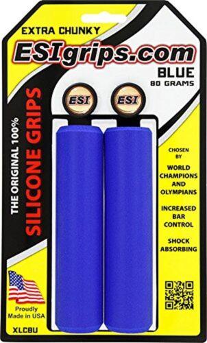 Choose Color ESI EXTRA Chunky 34mm Soft Bike Grips 130mm Lightweight 80g MTB