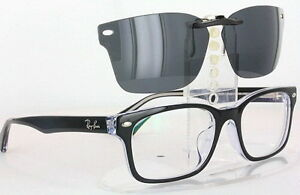 Custom Fit Polarized CLIP-ON Sunglasses For Ray-Ban RB5286 ...