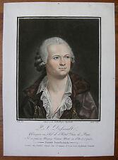 J.-B. GAUTIER ´PIERRE-JOSEPH DESAULT; CHIRURG´ AQUATINTA, NACH KYMLI, ~1800