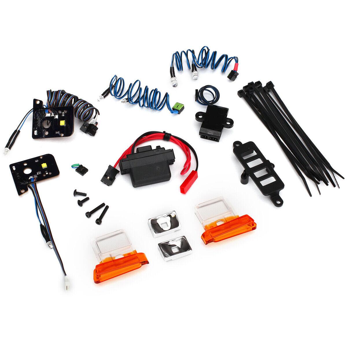 Traxxas 8035 - Bronco LED Light Set w Headlights, Tail Lights & Module
