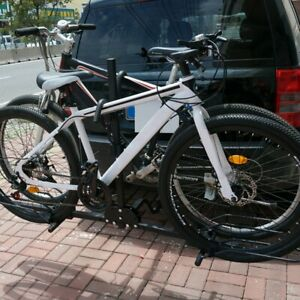 New-Heavy-Duty-2-Bike-Bicycle-2-034-Hitch-Mount-Carrier-Platform-Rack-Car-Truck-SUV