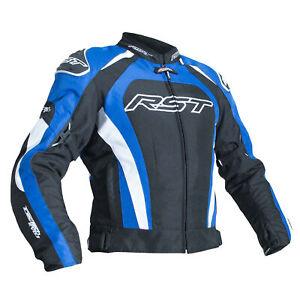 RST-Tractech-Evo-3-III-Veste-de-moto-en-textile-Approuve-CE-Bleu