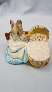 Vintage-1989-Royal-Doulton-Beatrix-Potter-Hunca-Munca-Figurine-Beswick-England