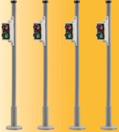 4 Stück nur passend zu 5095 Neuware Viessmann 5096 H0 Fußgängerampel
