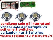 3x tasti interruttori ricambio switch cover guscio Volkswagen PASSAT SMART CARD