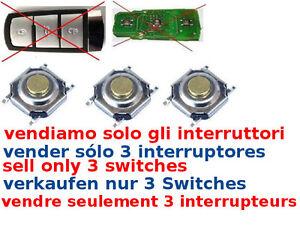 Espace SMART CARD 3 x tasti ricambio switch telecomando RENAULT Laguna Megane G