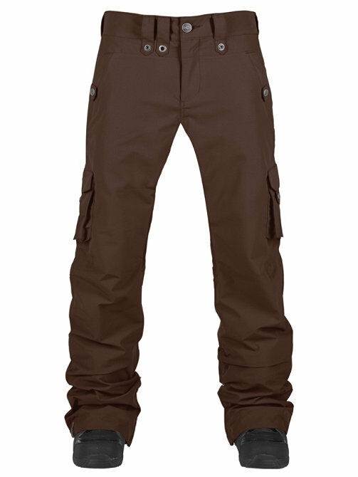 New Wmns Bonfire Cora Insulated Ski and Snowboard Pants Medium Bison