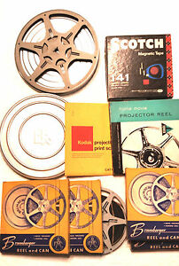 VINTAGE BRUMBERGER 8MM FILM REEL (NIB) and other items - lot