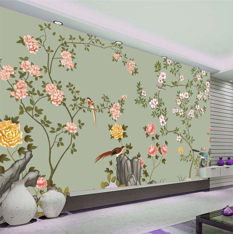 Simple Lovely Birds 3D Full Wall Mural Photo Wallpaper Printing Home Kids Decor