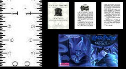 1:24 SCALE MINIATURE BOOK HARRY POTTER ORDER OF PHOENIX