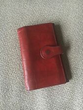 Mulberry Red Congo Leather Wallet Purse