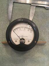 Vtg Radio Panel Meter General Electric Model 8a022vam1 Ac Volts 0 15 Me477