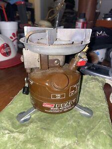 Vintage Coleman Peak1 Model 400 Backpack Lightweight Cook Stove 4/1983 Leaks