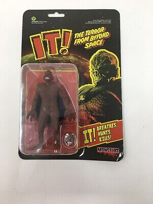 "Monstarz IT The Terror From Beyond Space GREEN 3.75/"" Retro Action Figure NIP"