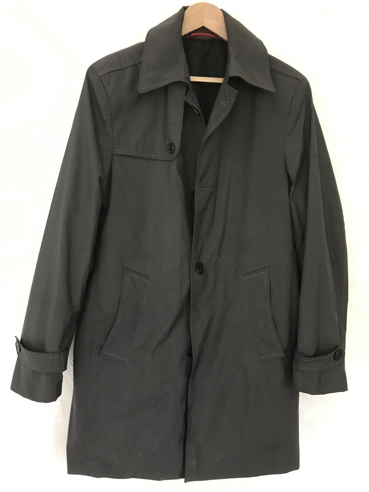 Duffel & Rums Light Spring Over Coats/ Grau/ Extra Large. (UK 42 Chest)