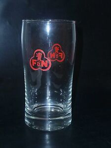 OLD-EDITION-1-x-Singapore-drinking-glass-F-amp-N-034-Cola-Shape-034-CA-10