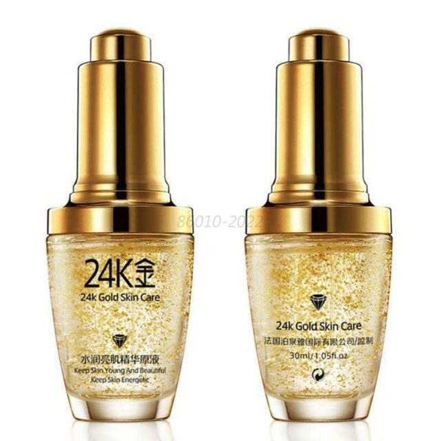 24K Gold Collagen Essence Anti Wrinkle Remove Liquid Face Cream Oil Skin Care