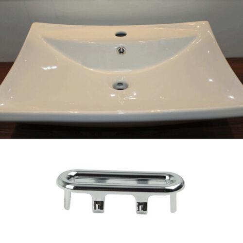 Bathroom-Bath Basin Spares Star Hole Sink Overflow Cover Tidy Trim Chrome Insert