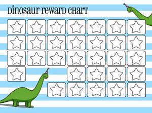 Image Is Loading A5 Print Children S Dinosaur Reward Chart C W