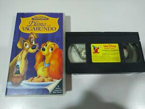 La-Dama-y-el-Vagabundo-Walt-Disney-VHS-Cinta-Castellano