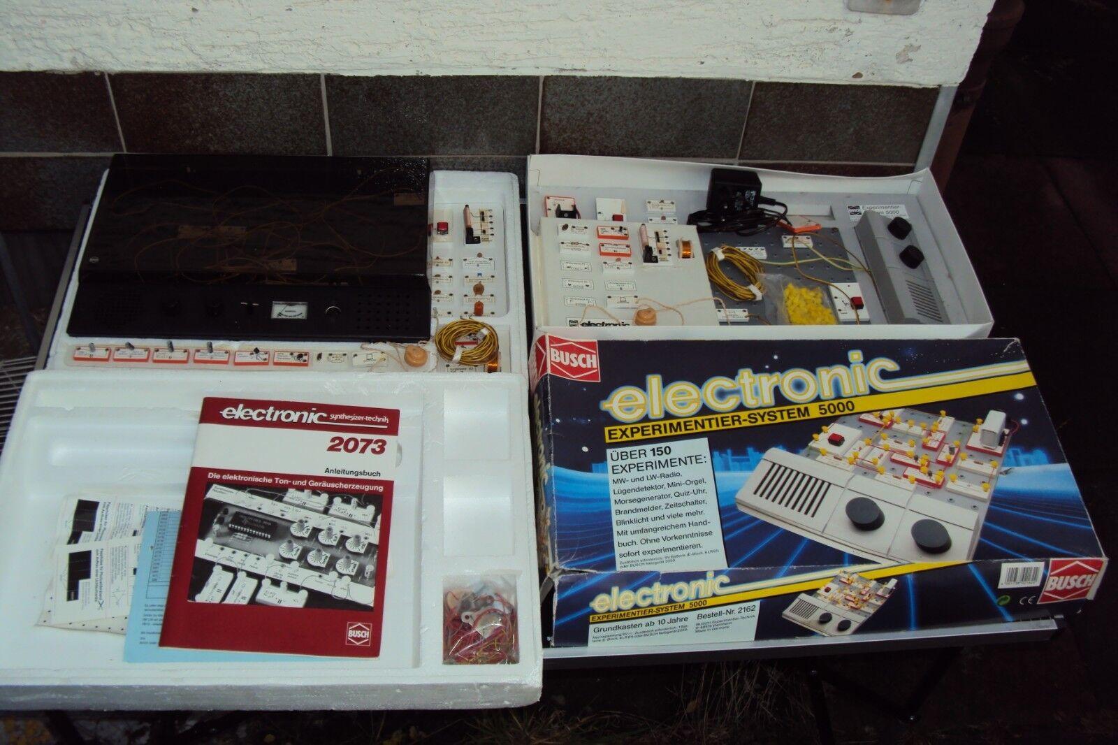 Busch Electronic Experimentier System 5000 2073 syntheGrößer-technik usw