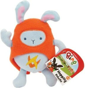 Soft Toy 5 7/8in Hoppity Cartoon Animated Bing Original Games Moments New
