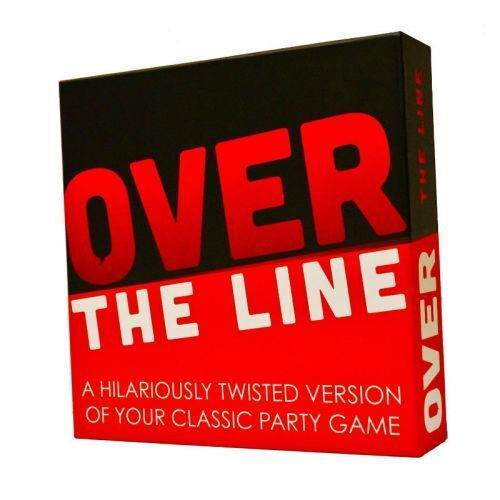 OVER THE LINE Fun ADULT PARTY GAME Age 17+