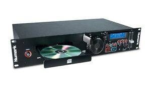 Numark-MP103USB-Single-Rack-DJ-CD-Player-USB-MP3-Disco-Karaoke-Sound-System