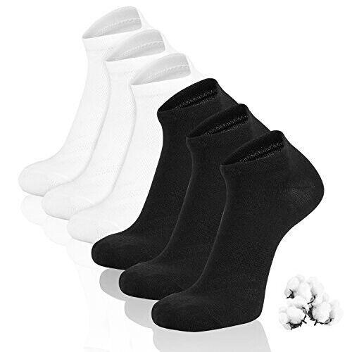 Pack of 3x 6x 12x Mens Womens Trainer Socks Trainer Boot Ankle Sports Socks