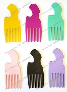 Afro-Hair-Comb-Professional-Easily-Tease-amp-Lift-Curly-or-Permed-Hair-Clearance
