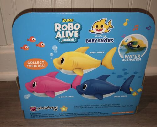 Pink fong Jungen Baby Shark Blue Schlafanzug