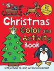 Christmas Color and Activity Book by Roger Priddy (Paperback / softback)