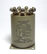 Audio-Übertrager / Transformator, 5 kOhm auf 8 Ohm, -24 bis 0 dB Anzapfungen