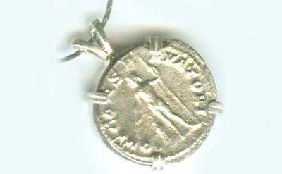 238AD Silver Denarius (Coin) Teenage Roman Emperor Gordian + Jupiter Jove Zeus