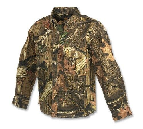 Browning Jr  Wasatch Youth Button-Up Camouflage Shirt CHOOSE SIZE AND CAMO  cheap in high quality