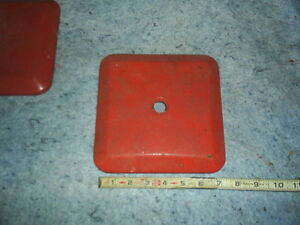 Northwestern 60 Lid Top Cover for NW 60 glass Vending Machine blue red  orange