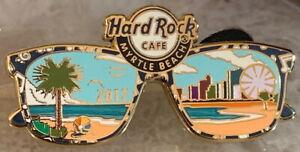 Hard-Rock-Cafe-MYRTLE-BEACH-2017-SUNGLASSES-PIN-w-Beach-Scene-LE-300-HRC-93375