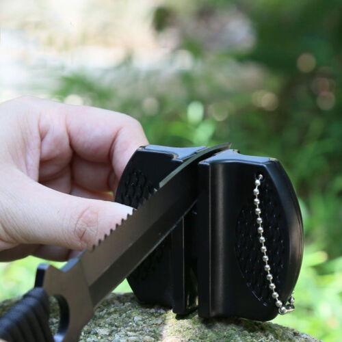 1PC Hot schwarz Ceramic Rod Wolframstahl-Außenlager Messerschleifer Tool Gift