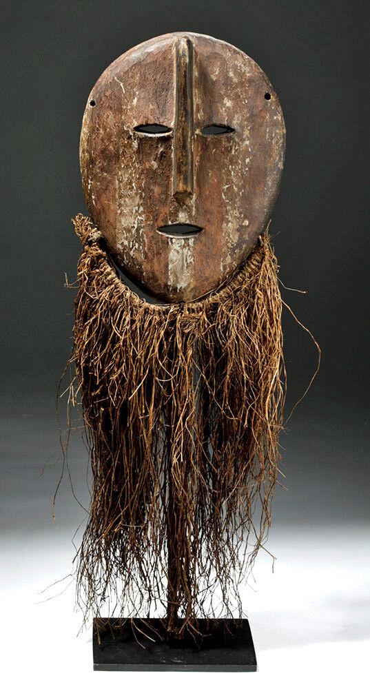masque africain 1950