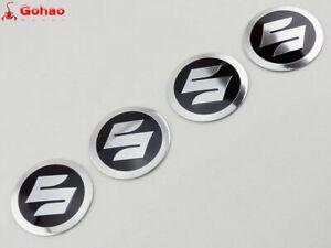 4X-55mm-Round-Tank-Fender-Fairing-Emblems-Decals-Stickers-For-Suzuki-Motorcycle