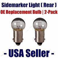 Sidemarker (rear) Light Bulb 2pk - Fits Listed Citroen Vehicles - 1895