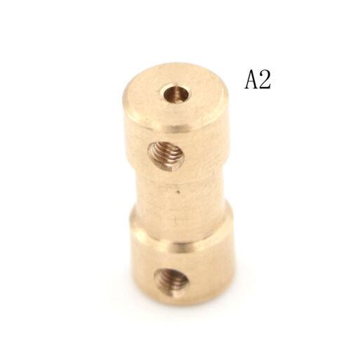 1pc Conector de Acoplamiento Acoplador de Eje de Accionamiento Motor 2mm 5 Conector Barco RC C22 ~ Gq