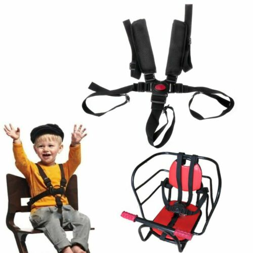 5 Point Harness Baby Safety Seat Belts for High Stroller Chair Baby Kids Protect