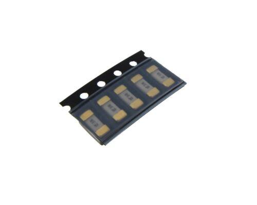 Pack of 5 0.5A 125V 1808 SMD Ceramic Fuse Surface mount LittleFuse