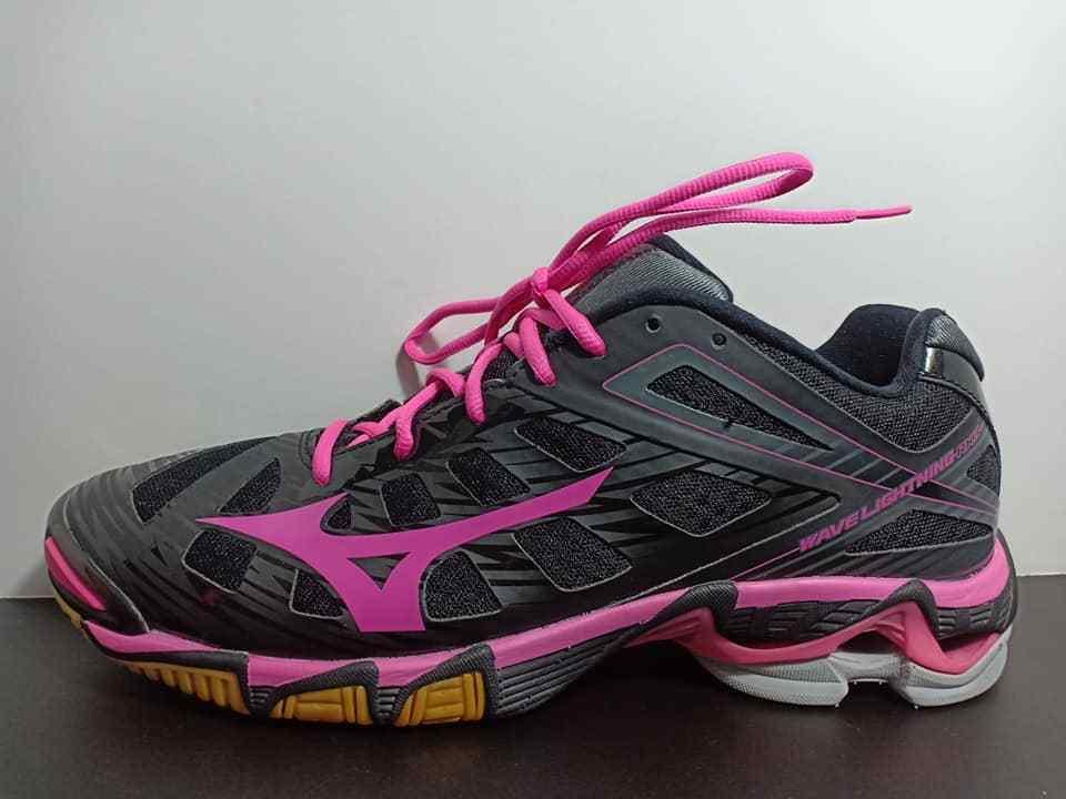 Mizuno Wave Lightning Rx3 Rx3 Rx3 al tobillo alto zapatos de tenis para mujer Talla 12 W  primera reputación de los clientes primero
